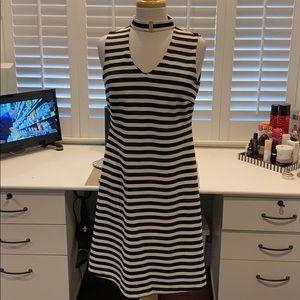 Like new Calvin Klein striped dress